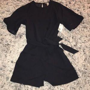 Black romper / jumpsuit NWT